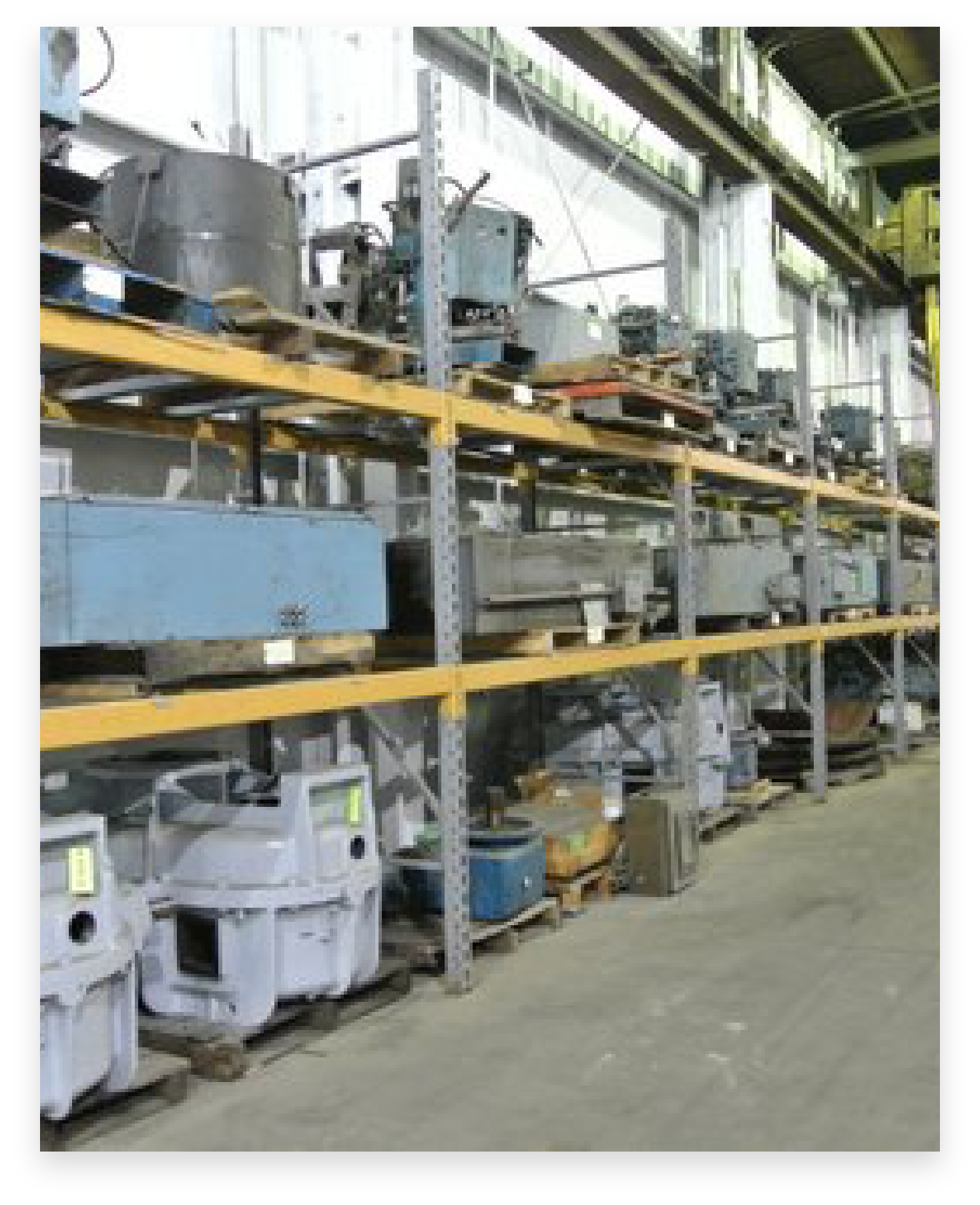 FL Sales Foundry and Capital Equipment warehouse